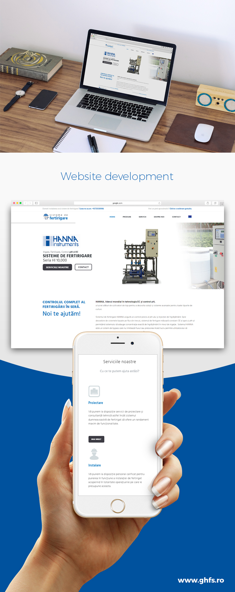 Ghfs Webdesign and Web Development Project