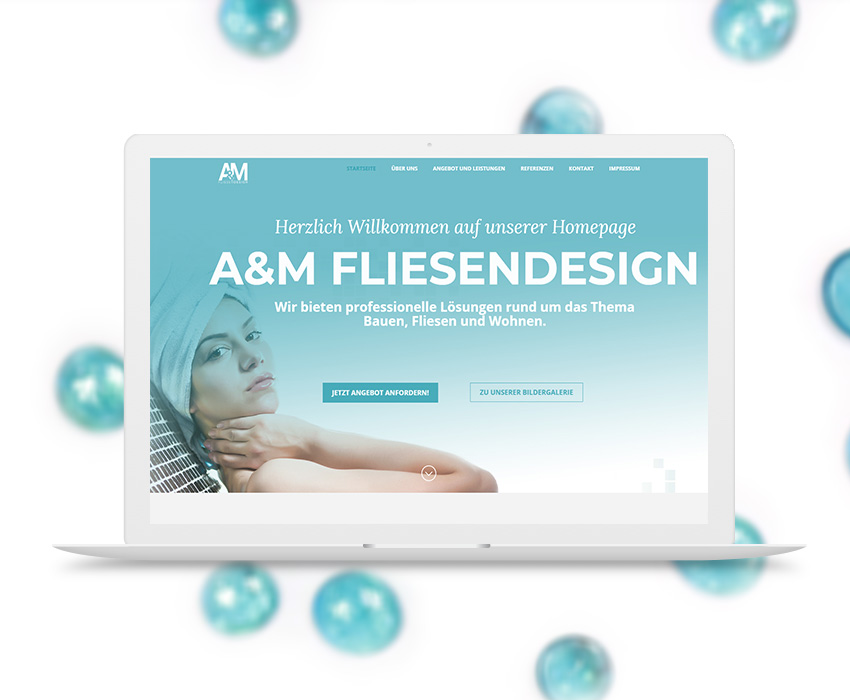 AM-Fliesendesign – Web Development