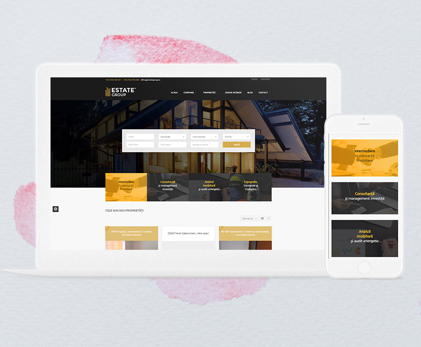 Estate Group – Web Development